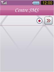 Samsung S7070 Diva - SMS - Configuration manuelle - Étape 7