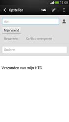 HTC Desire 601 - e-mail - hoe te versturen - stap 8