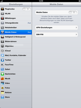 Apple iPad 3 - Internet - Apn-Einstellungen - 0 / 0