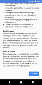 Sony Xperia XZ2 - Applications - Create an account - Step 15