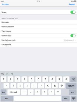 Apple iPad 4 iOS 9 - E-mail - Account instellen (POP3 met SMTP-verificatie) - Stap 19