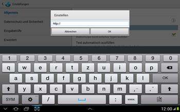 Samsung N8000 Galaxy Note 10-1 - Internet - Manuelle Konfiguration - Schritt 20