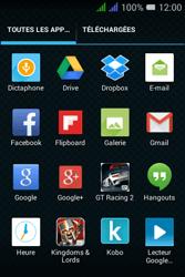 Alcatel Pixi 3 Dual Sim - E-mails - Envoyer un e-mail - Étape 3