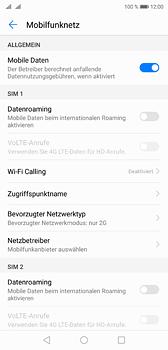 Huawei P20 - Netzwerk - Netzwerkeinstellungen ändern - Schritt 7