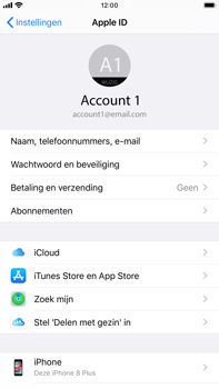 Apple iPhone 8 Plus - iOS 13 - Data - Maak een back-up met je account - Stap 8