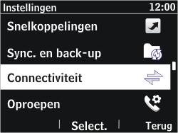 Nokia Asha 302 - bluetooth - aanzetten - stap 4