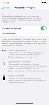 Apple iPhone XR - iOS 13 - WiFi - So aktivieren Sie einen WLAN-Hotspot - Schritt 8
