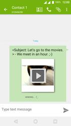 Wiko U-Feel Lite - MMS - Sending pictures - Step 18