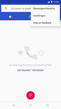 Nokia 8 Sirocco - voicemail - handmatig instellen - stap 5
