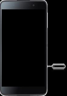 BlackBerry DTEK 50 - SIM-Karte - Einlegen - Schritt 2