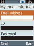 Samsung B2100 Xplorer - E-mail - Manual configuration - Step 13