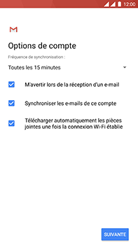 OnePlus 3 - Android Oreo - E-mail - Configuration manuelle (outlook) - Étape 11