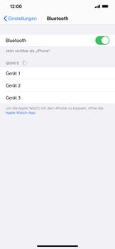 Apple iPhone XS Max - iOS 13 - Bluetooth - Verbinden von Geräten - Schritt 7
