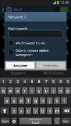 Samsung I9505 Galaxy S IV LTE - WiFi - Verbinden met een netwerk - Stap 7