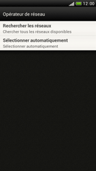 HTC One S - Réseau - Sélection manuelle du réseau - Étape 7