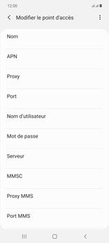Samsung Galaxy Note 20 5G - MMS - Configuration manuelle - Étape 9
