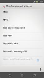 Sony Xperia Z1 - Internet e roaming dati - Configurazione manuale - Fase 16