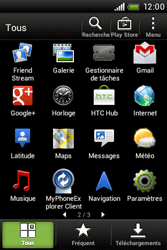 HTC A320e Desire C - Wifi - configuration manuelle - Étape 2