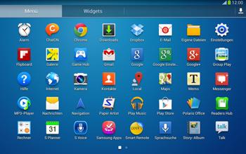 Samsung Galaxy Tab 3 10-1 LTE - Apps - Konto anlegen und einrichten - 3 / 25
