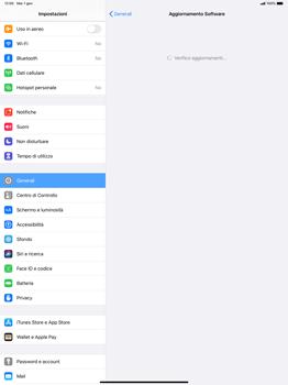 Apple iPad Pro 12.9 (2018) - ipados 13 - Software - Installazione degli aggiornamenti software - Fase 5