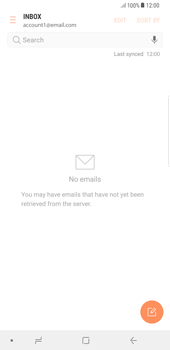 Samsung Galaxy Note 8 - E-mail - manual configuration - Step 6