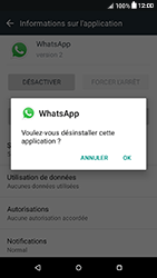 HTC Desire 650 - Applications - Supprimer une application - Étape 7