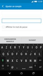 HTC Desire 816 - E-mail - Configuration manuelle - Étape 7