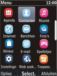 Nokia C2-05 - contacten, foto