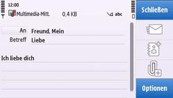 Nokia C6-00 - MMS - Erstellen und senden - Schritt 14