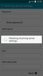 Samsung A500FU Galaxy A5 - E-mail - Manual configuration - Step 12