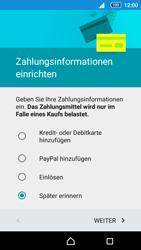 Sony Xperia Z5 Compact - Apps - Einrichten des App Stores - Schritt 18