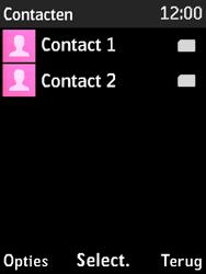 Nokia 3310 3G (TA-1022) - Contacten en data - Contacten kopiëren van SIM naar toestel - Stap 4