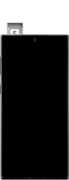 Samsung galaxy-note-10-dual-sim-sm-n970f - Instellingen aanpassen - SIM-Kaart plaatsen - Stap 6