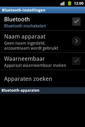 Samsung S5690 Galaxy Xcover - bluetooth - headset, carkit verbinding - stap 6
