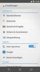Sony Xperia Z1 - Fehlerbehebung - Handy zurücksetzen - 6 / 11