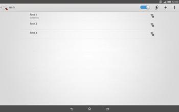 Sony Xperia Tablet Z2 LTE - WiFi - Configurazione WiFi - Fase 8