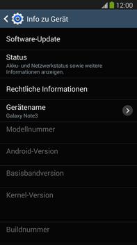 Samsung Galaxy Note III LTE - Software - Installieren von Software-Updates - Schritt 7