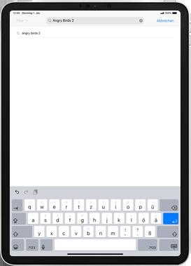 Apple iPad mini (2019) - iPadOS 13 - Apps - Installieren von Apps - Schritt 11