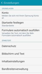 Samsung G850F Galaxy Alpha - Internet - Manuelle Konfiguration - Schritt 21