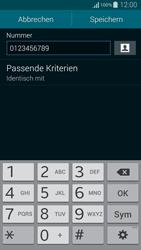 Samsung Galaxy Alpha - Anrufe - Anrufe blockieren - 11 / 13