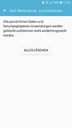 Samsung J510 Galaxy J5 (2016) DualSim - Fehlerbehebung - Handy zurücksetzen - Schritt 10
