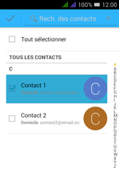 Alcatel Pixi 3 Dual Sim - E-mails - Envoyer un e-mail - Étape 7
