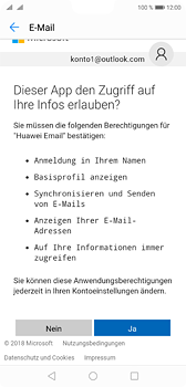 Huawei P20 - E-Mail - Konto einrichten (outlook) - 9 / 12