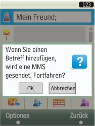 Samsung TouchWiz - MMS - Erstellen und senden - 15 / 25