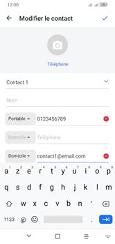 Alcatel 1S (2020) - Contact, Appels, SMS/MMS - Ajouter un contact - Étape 14