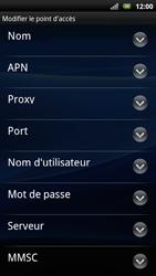 Sony Xperia Arc S - Internet - Configuration manuelle - Étape 10