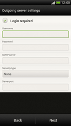 HTC One S - E-mail - Manual configuration - Step 13
