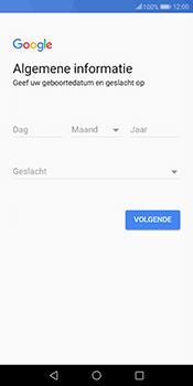 Huawei Mate 10 Pro - Applicaties - Account instellen - Stap 7