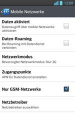 LG P710 Optimus L7 II - Netzwerk - Netzwerkeinstellungen ändern - Schritt 8