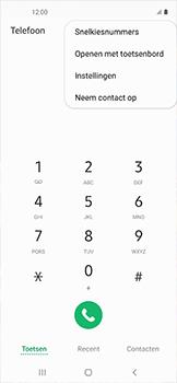Samsung galaxy-xcover-pro-sm-g715fn - Voicemail - Handmatig instellen - Stap 5